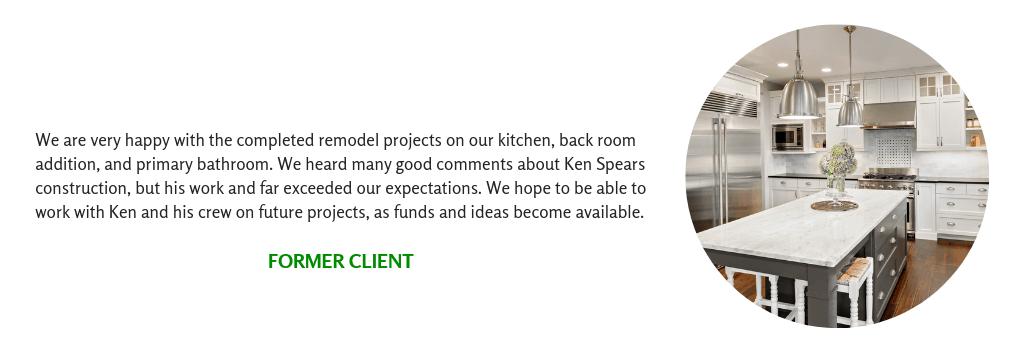 Client Testimonial for Luxury Kitchen