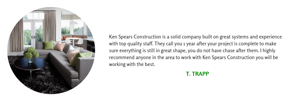 Client Testimonial for a Whole Home Remodel