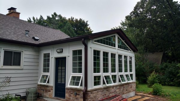 Screened In Porch Remodel As Addition To Exterior Home