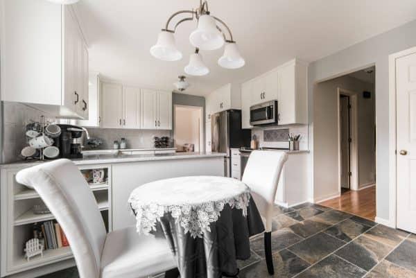 kitchen remodel breakfast area